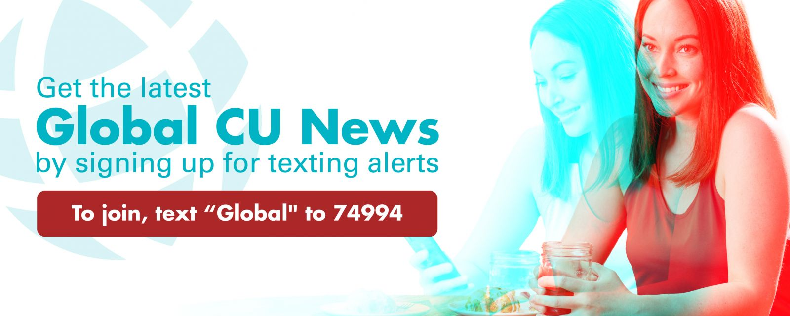 Opt in for text messages with Global