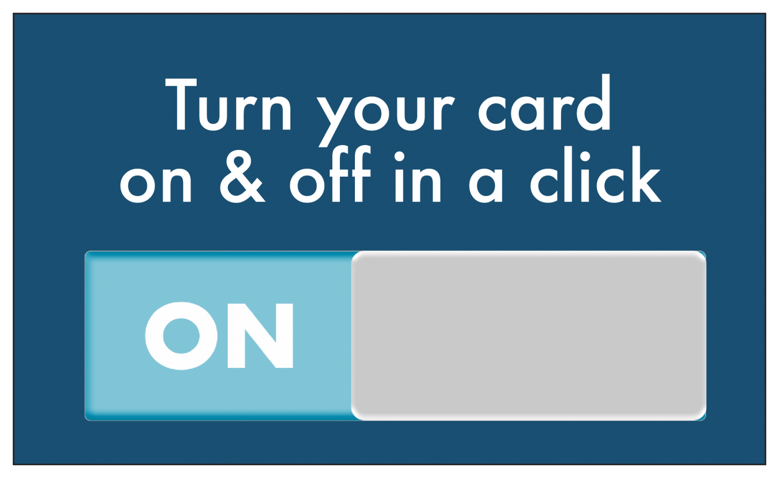 Cardnav off and on switch