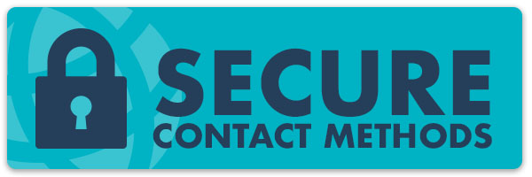 secure contact methods