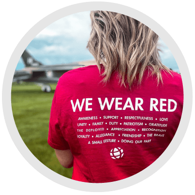 wear red image